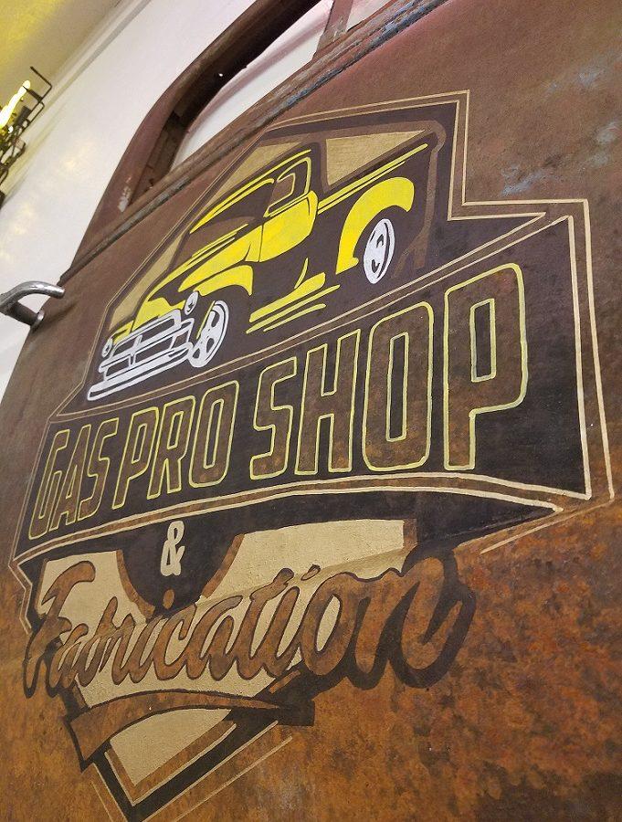 Gas Pro Shop & Fabrication 1938 Truck Door