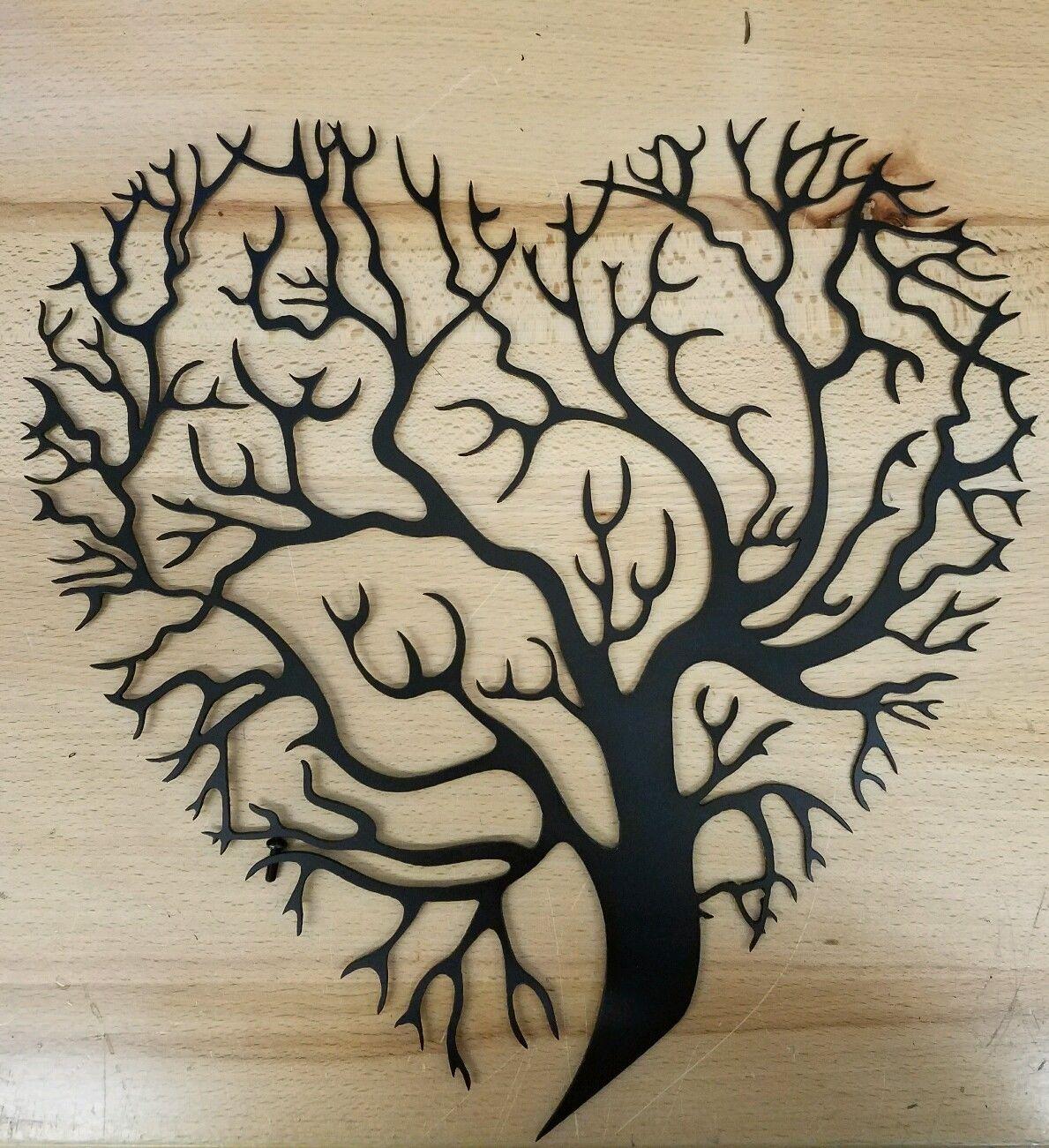 Tree of life metal art plasma cut decor