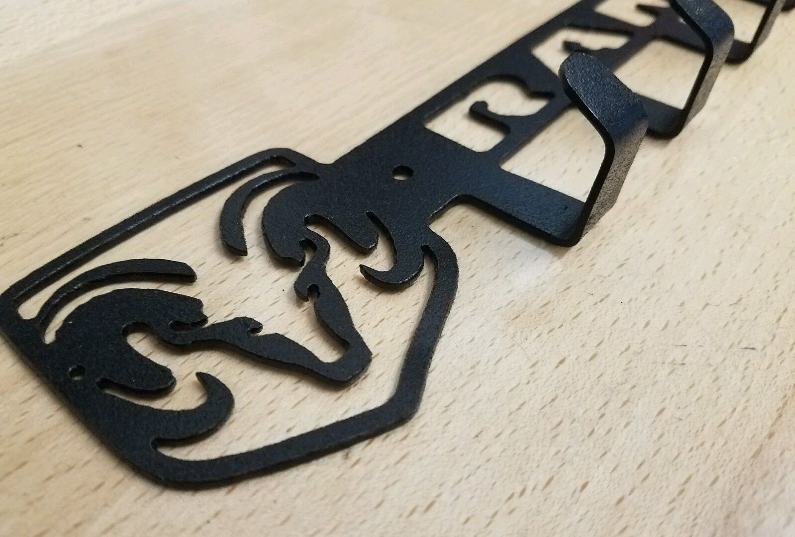 Dodge Ram Key Chain Fob Holder Metal Art Plasma Cut Gift