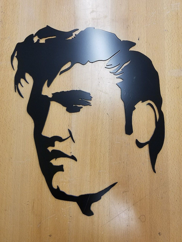 Elvis Presley metal wall art plasma cut home decor gift idea - Gas ...